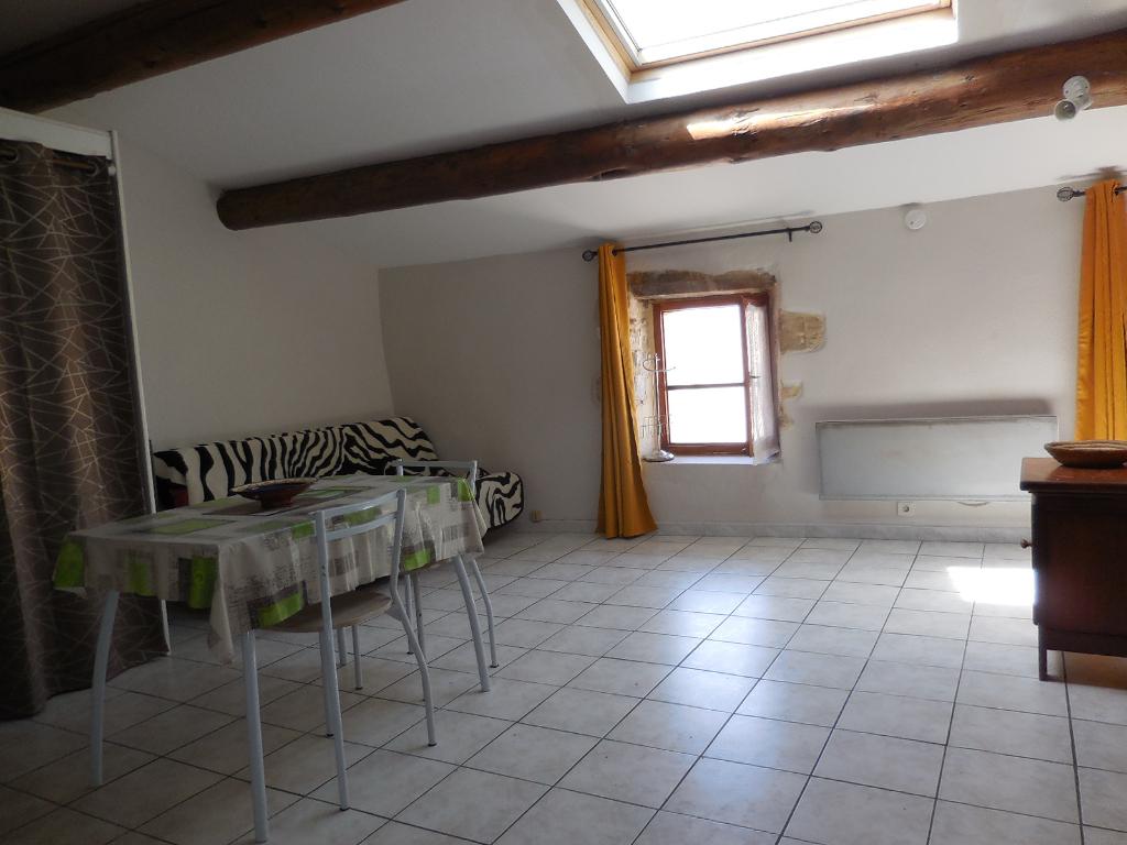 Investissement locatif, studio meublé Bagnols Sur Cèze de 29.00 m² à vendre