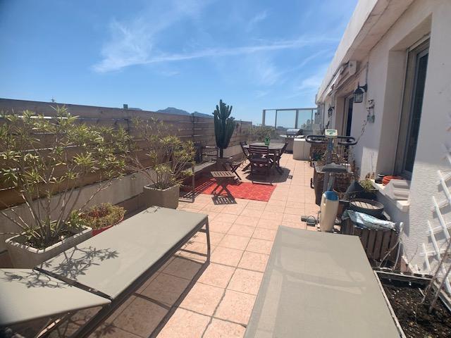 T3 en dernier étage avec terrasse 45m²