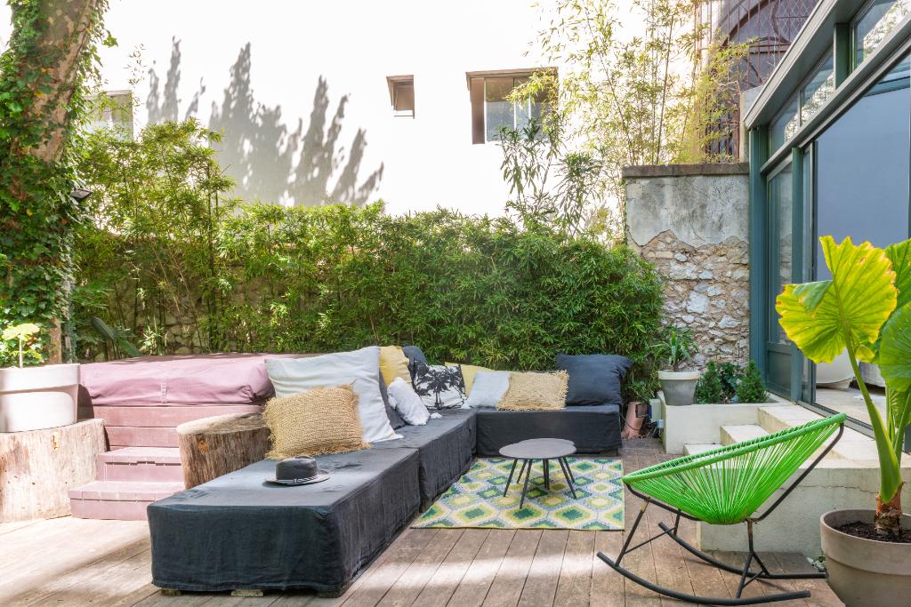 Superbe rez de jardin bourgeois de 238m² avec 200m² de jardin
