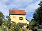 Maison de garde barrière a Vergigny de 110 m2 4 pieces 3 chambres  sur un terrain de 1456 m2