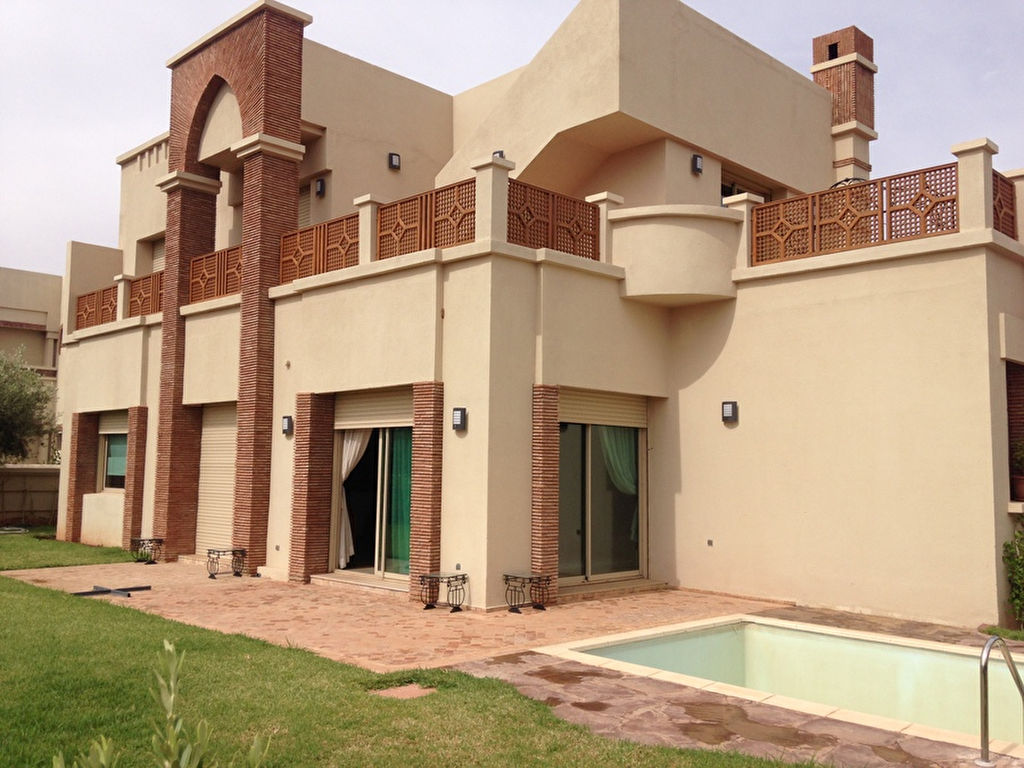 Achat villa amelkis immobilier marrakech for Achat maison marrakech