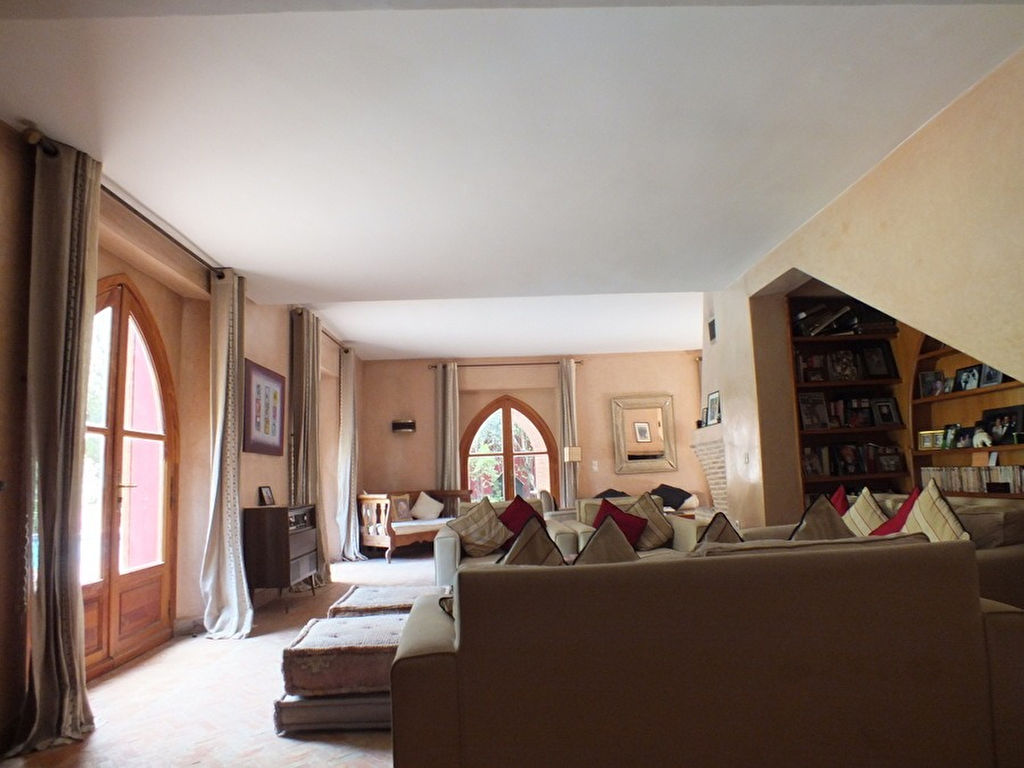 Achat villa hivernage immobilier marrakech for Achat maison marrakech
