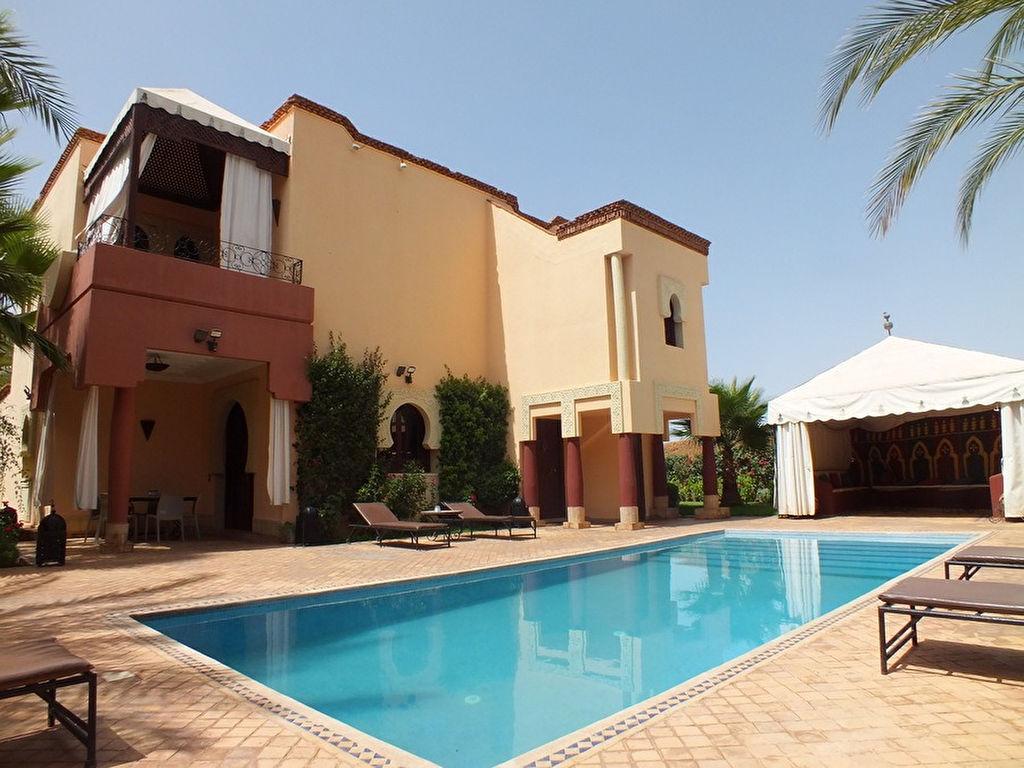Achat villa route ouarzazate immobilier marrakech for Achat maison marrakech