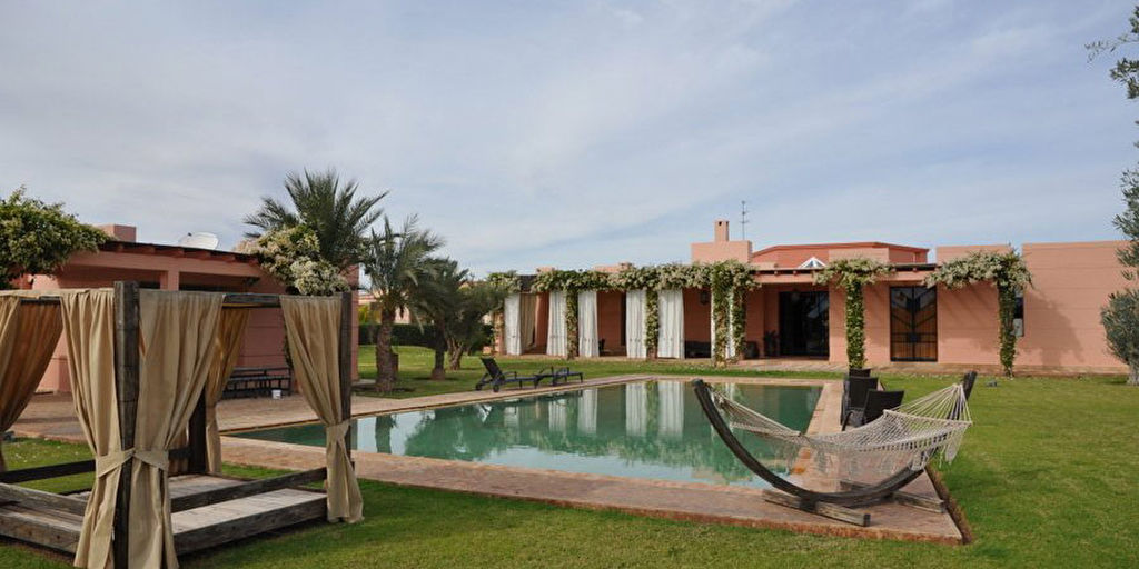 Achat villa route sidi abdellah ghiat immobilier marrakech for Achat maison marrakech