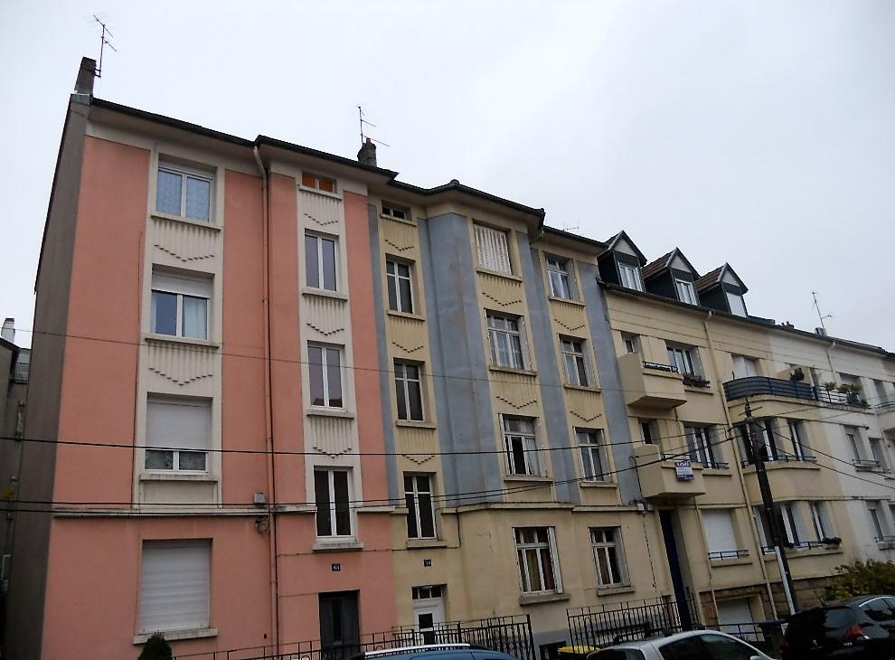 Appartement 2 pièces 40 m² en dernier étage à louer à METZ Sainte Thérèse