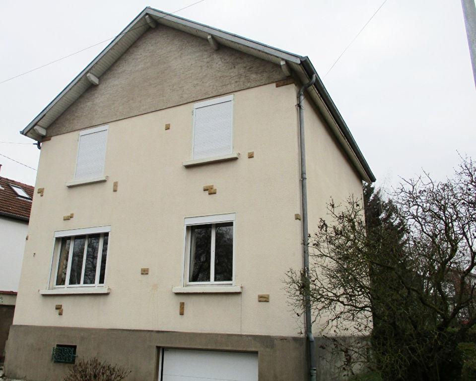 Maison individuelle de 5 pièces avec jardin, garage et sous-sol à vendre à METZ PLANTIERES