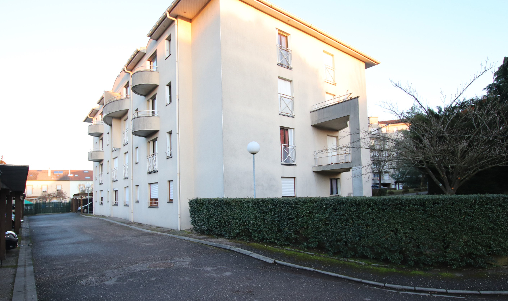 Appartement 1 pièce 31 m² parking à vendre à METZ SABLON