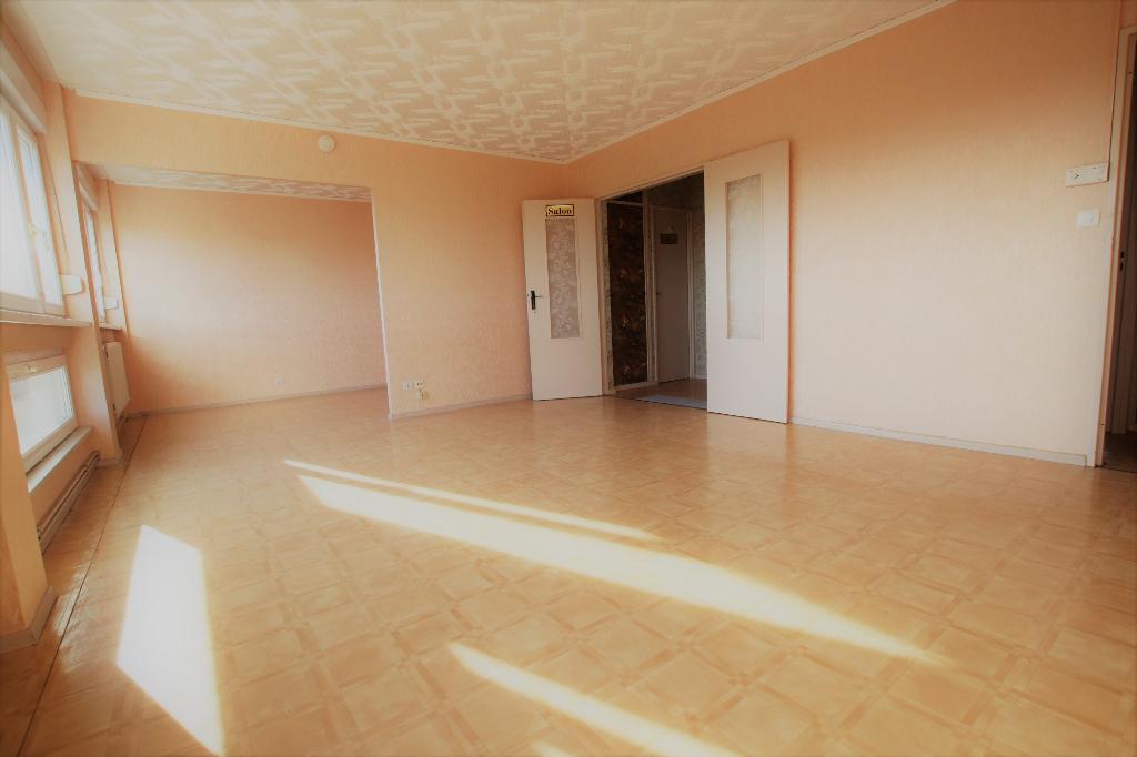 Appartement 5 pièces 90 m² 3 chambres garage à vendre à METZ Borny