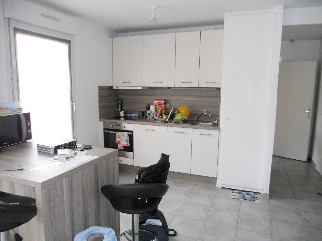 En dernier étage, Appartement 2 pièces terrasse box 47,50 m² à louer à METZ Gare