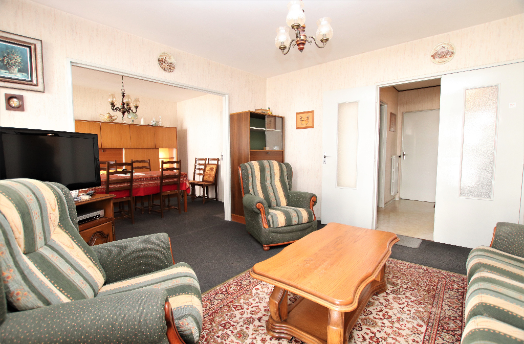 Appartement  4 pièces 77 m² avec loggia et garage à vendre à METZ SABLON