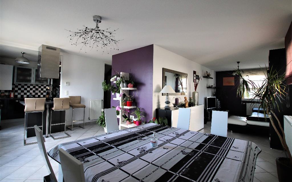 Appartement duplex 6 pièces 4 chambres terrasse garage 2vl à vendre à METZ Est