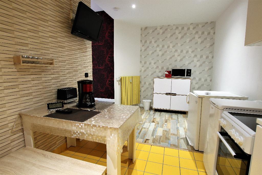 Appartement meublé 1 pièce 25 m² à louer à METZ Gare