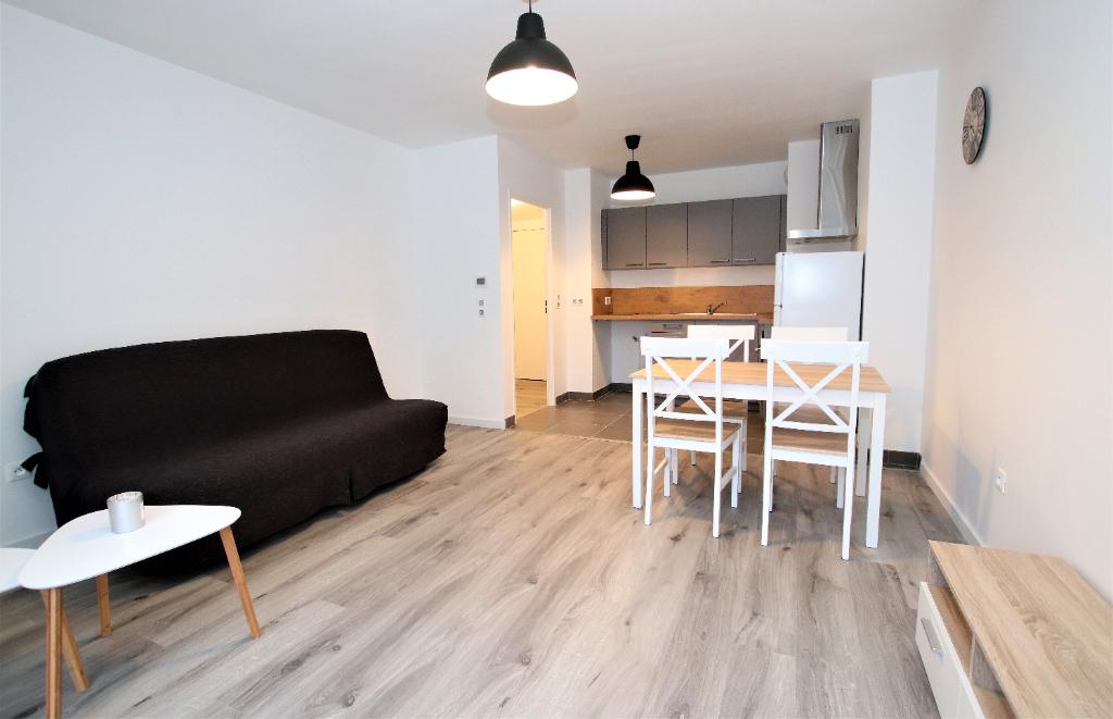 Appartement meublé 2 pièces 42 m² 1 chambre Balcon stationnement à louer à METZ  Muse