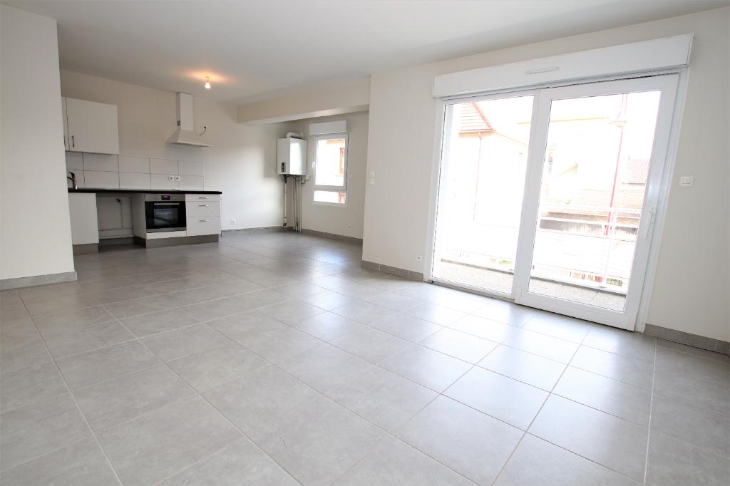 Appartement 2 pièces 57 m² loggia stationement à vendre à AMNEVILLE