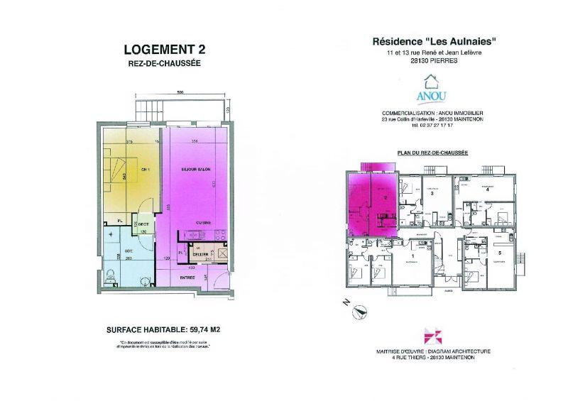 PIERRES T2 59 m² ENVIRON