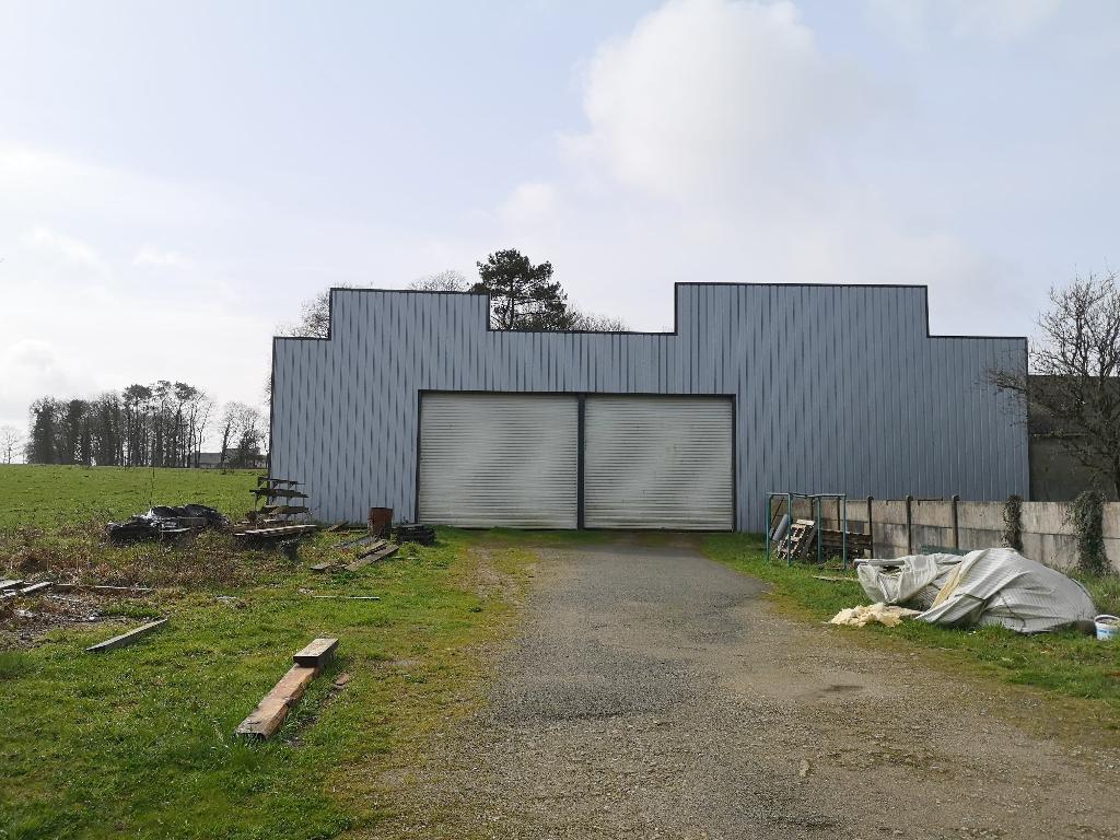 Grand hangar artisanal 10 mn de PONTIVY CENTRE