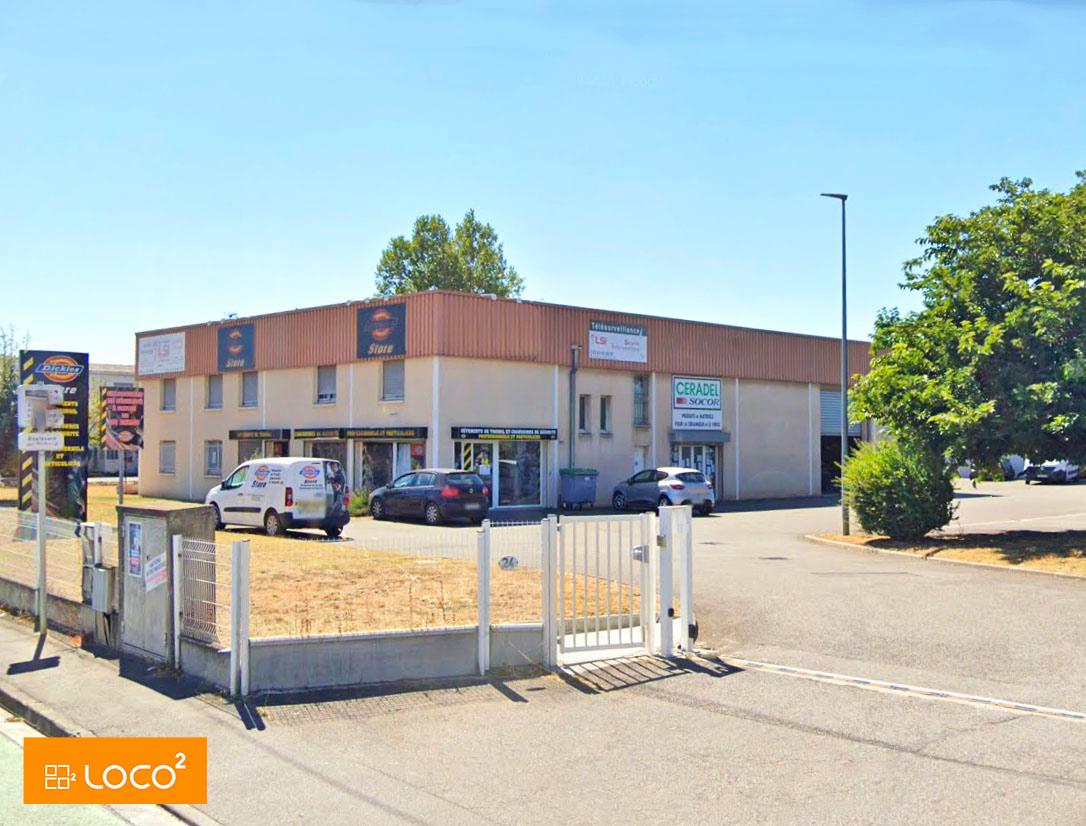 Location Bureaux 300 m²  Toulouse Thibaud
