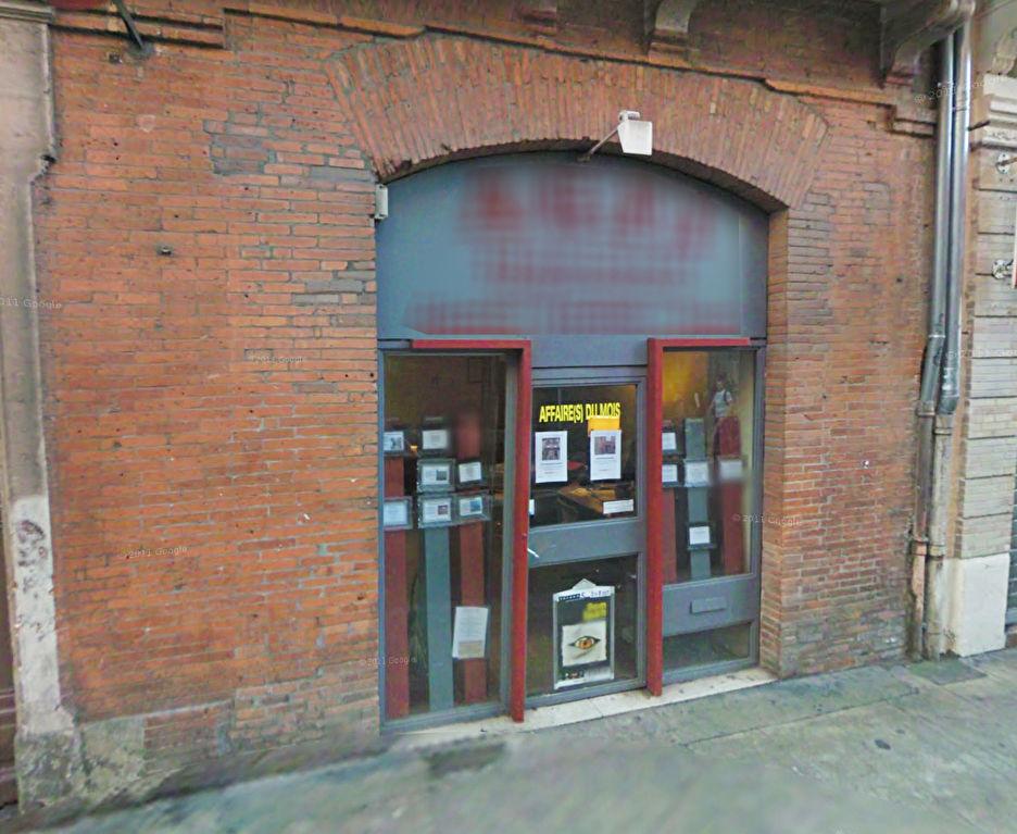 A louer Commerce avec vitrine Toulouse centre, Capitole, 60 m2
