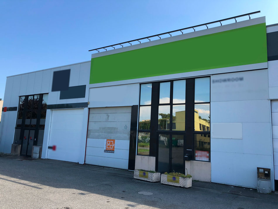 Local d'activité Toulouse Thibaud