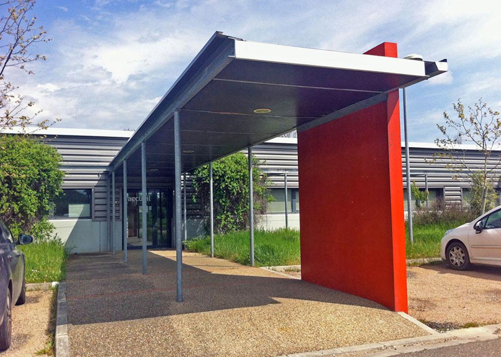 Locaux d'activités de 2580 m² à louer  Toulouse Purpan