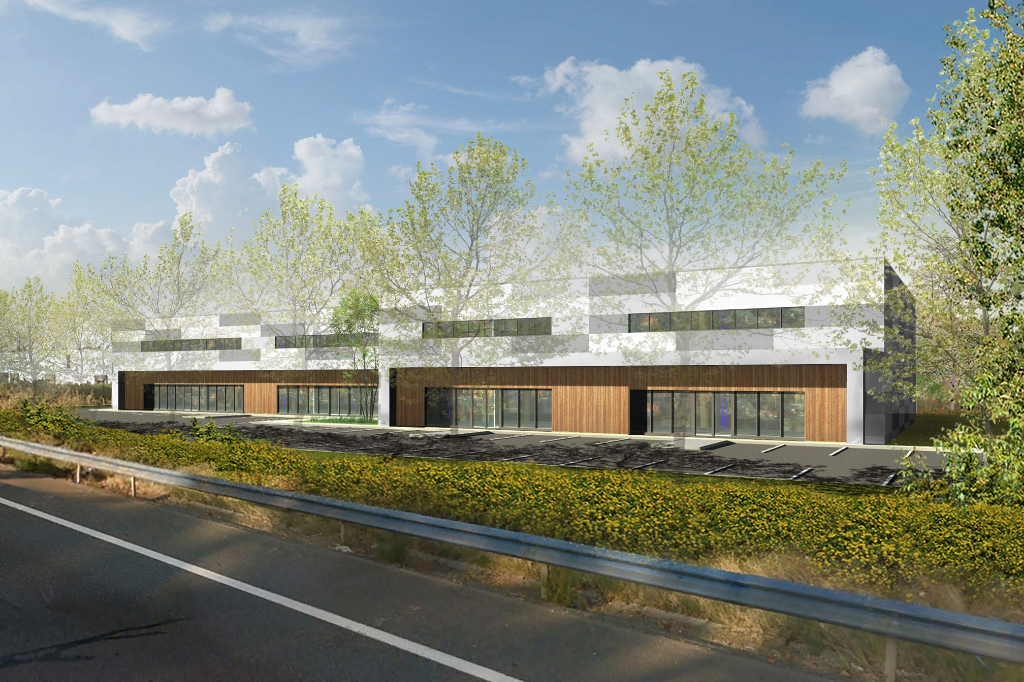 Locaux d'activités / commerciaux à louer à Toulouse SESQUIERES de 1 900 m2