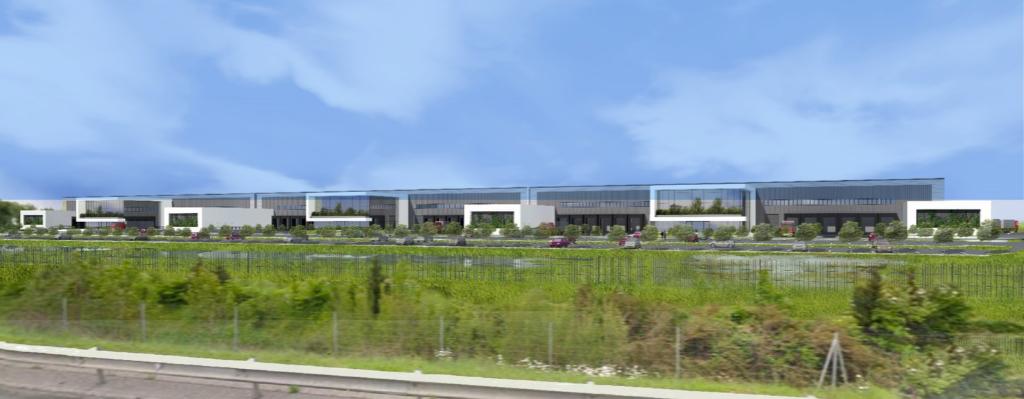 Plateforme logistique - ZAC Grand Sud Logistique de MONTBARTIER