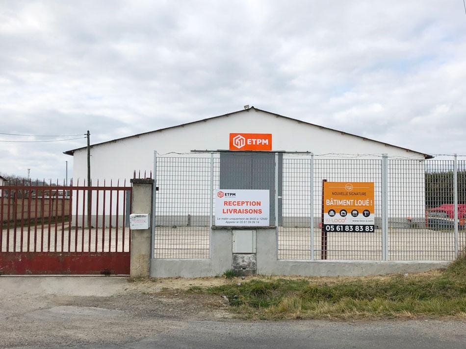 Entrepôt 1000 m²