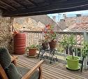 TEXT_PHOTO 2 - Maison de village avec terrasses, cour et garage 3 pièces