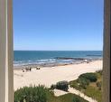 TEXT_PHOTO 6 - 1er ligne T3  avec parking vue magnifique sur la mer
