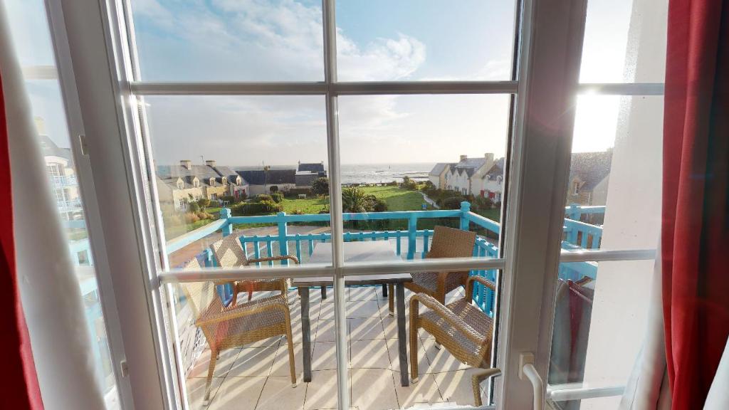 Appartement  2 pièce(s) avec pleine vue mer au Guilivinec