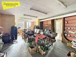 TEXT_PHOTO 8 - LA HAYE PESNEL A VENDRE immeuble comprenant un local commercial  et appartement avec terrasse
