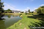 TEXT_PHOTO 15 - LINGREVILLE Ensemble de 2 maisons sur 9256m² de terrain et 2 plans d'eau.