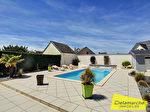 TEXT_PHOTO 8 - A VENDRE VILLA ST MARTIN DE BREHAL, plage à pied, piscine privée, proche de Granville