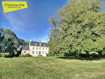 TEXT_PHOTO 1 - à vendre, manoir en Normandie avec dépendances sur 4ha de terrain