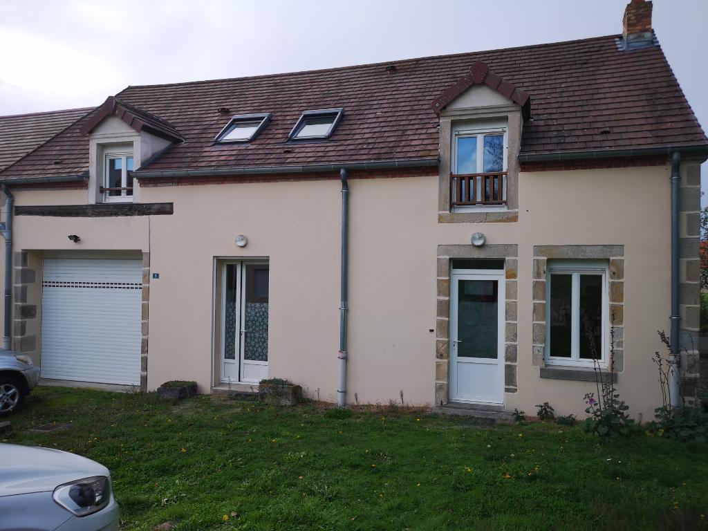 Maison d'habitation type F5 avec terrain.