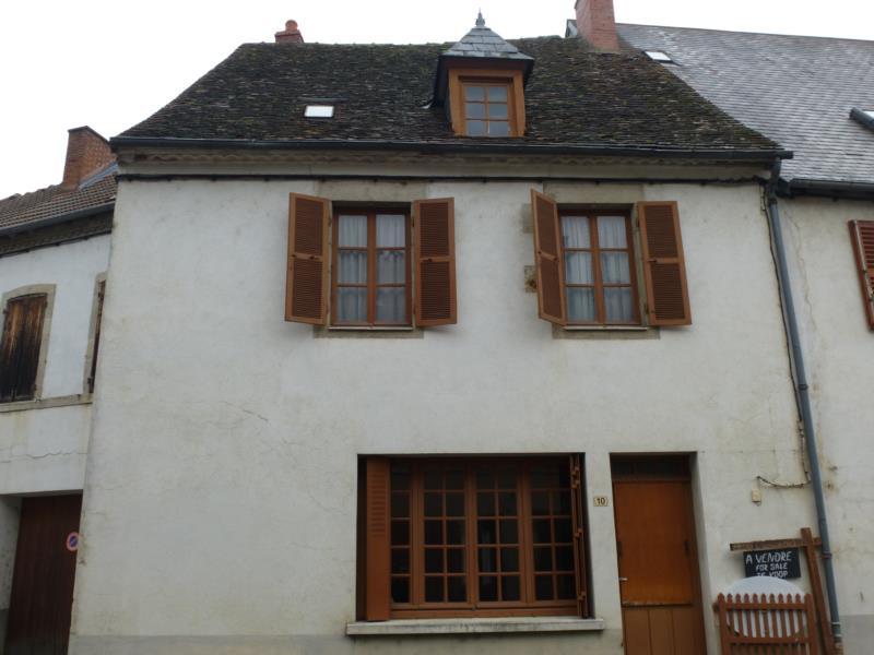 Centre ville Pionsat maison de bourg type F4