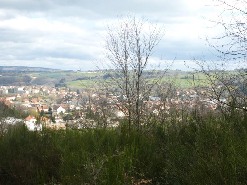 Sur les hauteurs de Saint-Eloy-Les-Mines, terrain constructible de 1510 m2 non viabilisé.