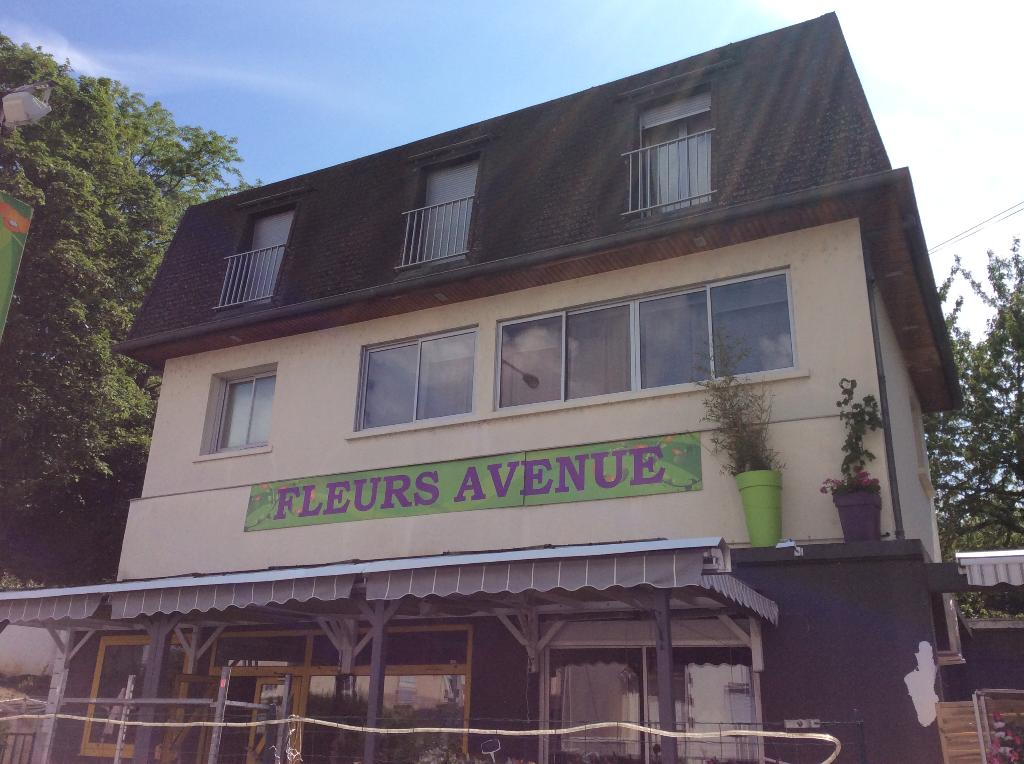 VENTE  IMMEUBLE : local commercial + duplex