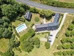 MAYRAC - Propriété avec maison d'habitation, 2 gîtes et piscine sur env. 3400 m² de terrain