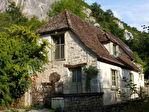 LACAVE Charmante maison en pierre en bordure de rivière avec piscine
