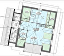 Programme neuf Biarritz - T2 d'environ 43 m² avec loggia vue océan - parking en sous sol