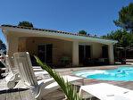Face aux pins, maison 4 chambres avec piscine