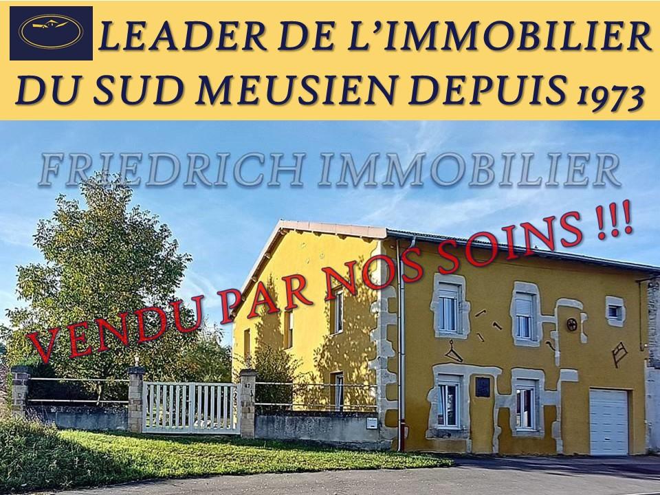 A vendre Maison TREVERAY 195m² 140.000 7 piéces