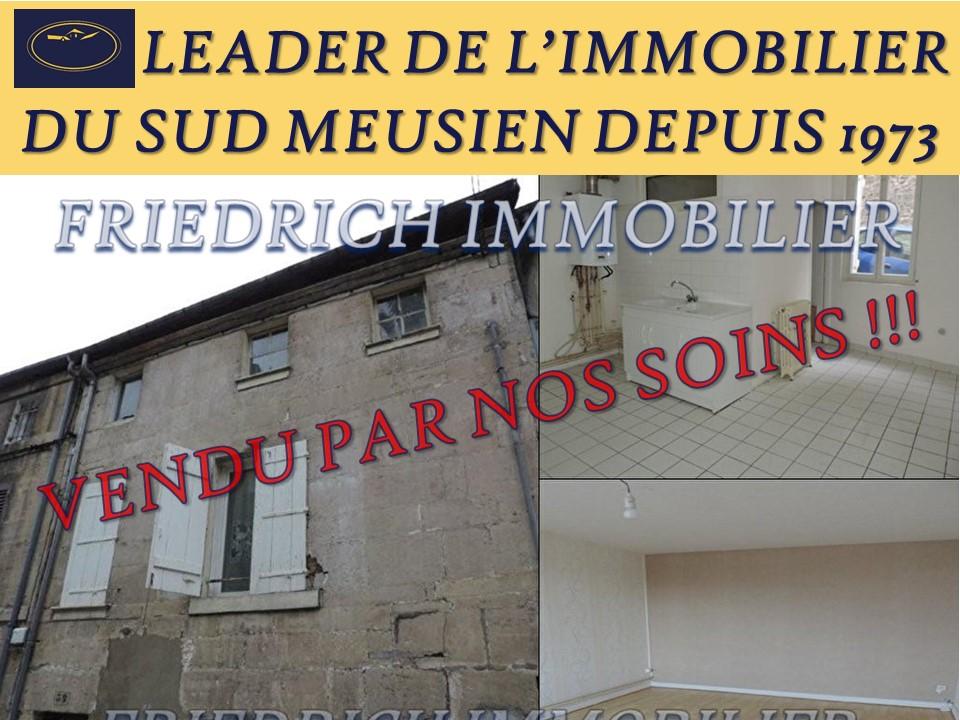 Immeuble composé de deux appartements A conforter - BAR-LE-DUC