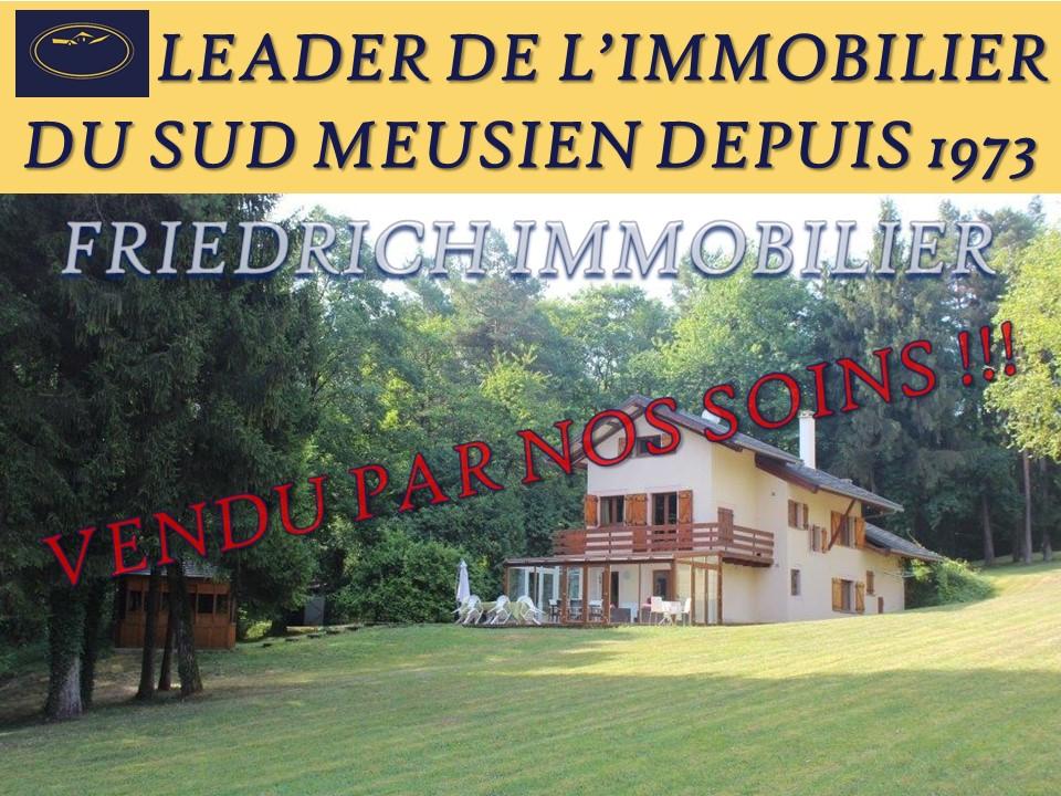 Agréable propriété sur 10 hectares 95 ares - Région COMMERCY