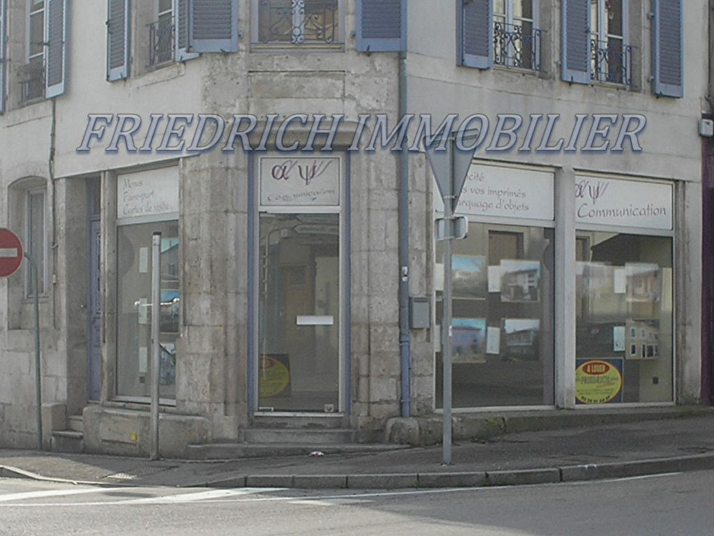 LOCAL PROFESSIONNEL EN CENTRE VILLE - COMMERCY