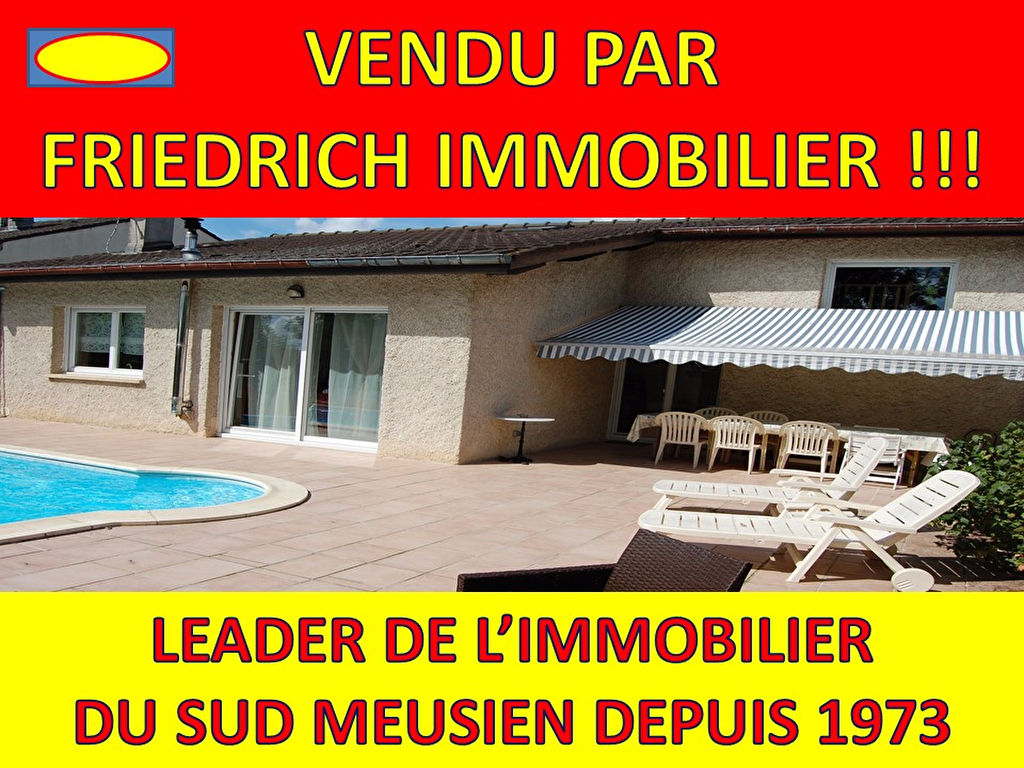 Achat maison a vendre commercy 163 000 137 m for Piscine commercy
