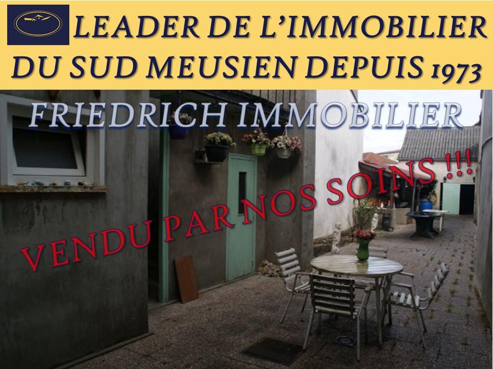 A vendre Maison LIGNY EN BARROIS 125m² 62.000 4 piéces
