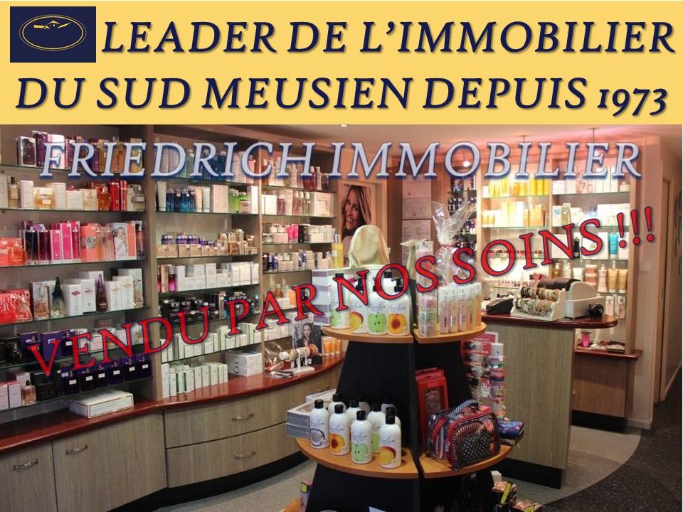 Fonds de commerce de parfumerie-soin-beauté - EN MEUSE