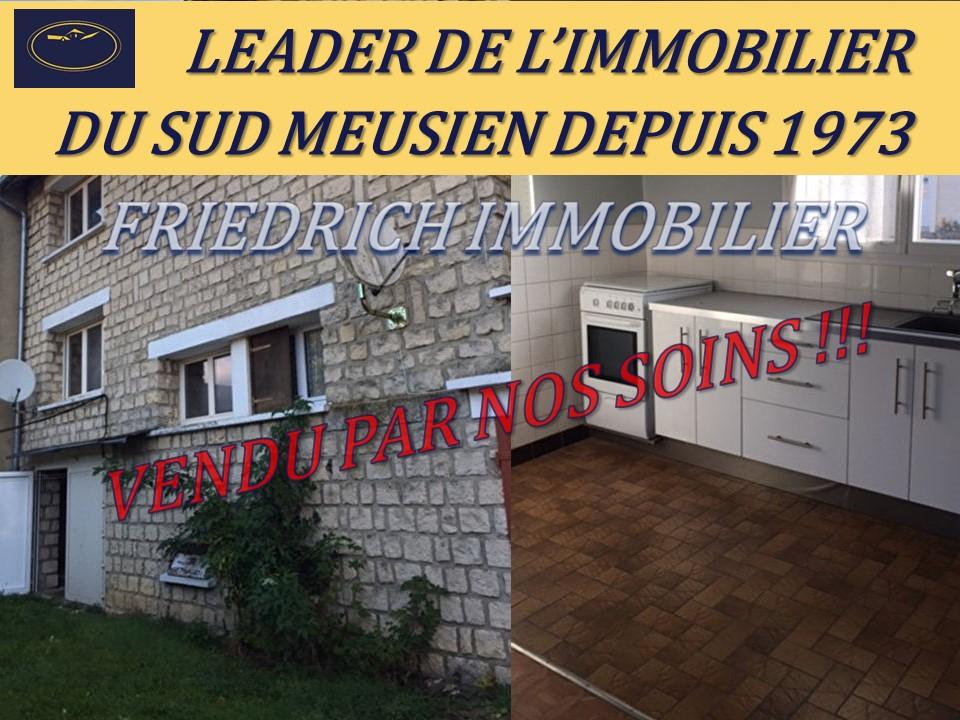 A vendre Maison BAR LE DUC 60m² 3 piéces